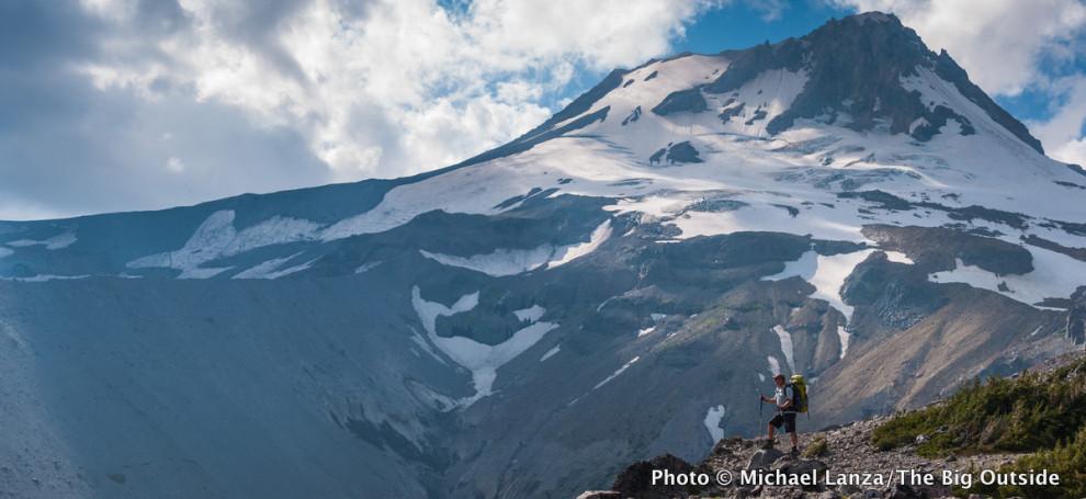 On Gnarl Ridge, Timberline Trail, Mount Hood, Oregon.