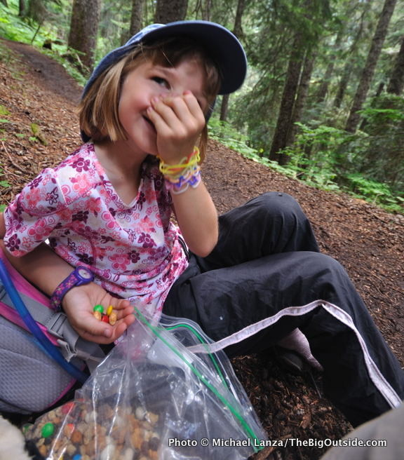 Backpacking with kids - Magazine cover