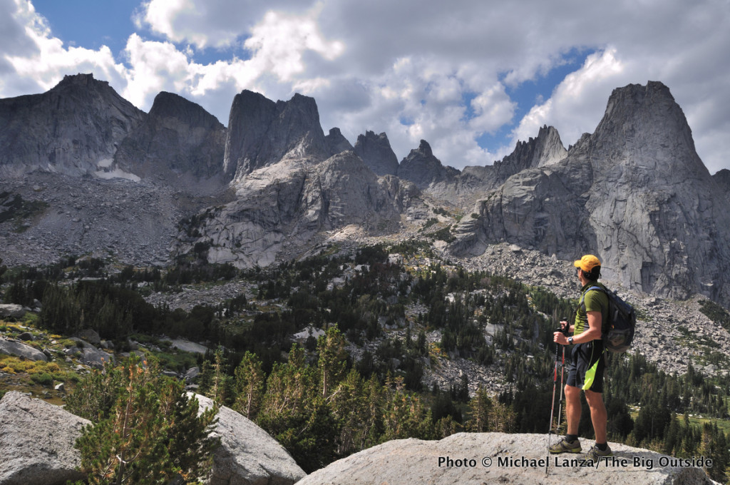 The Cirque of the Towers, Wind River Range, Wyoming.