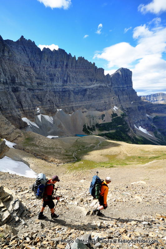 Piegan Pass Trail, Glacier National Park.