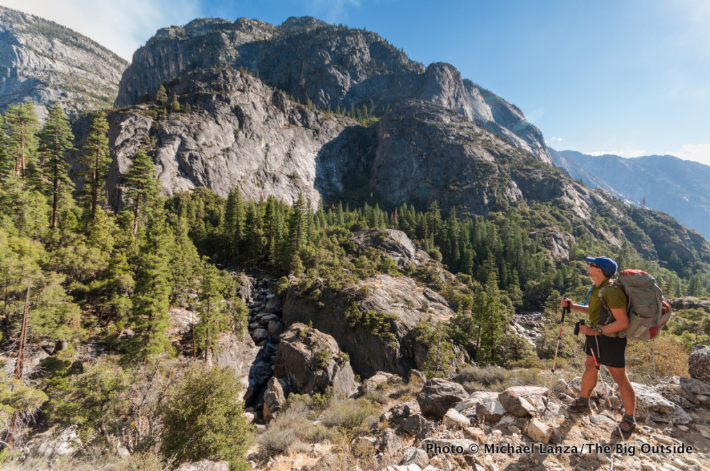 Todd Arndt backpacking the Grand Canyon of the Tuolumne River, Yosemite National Park.