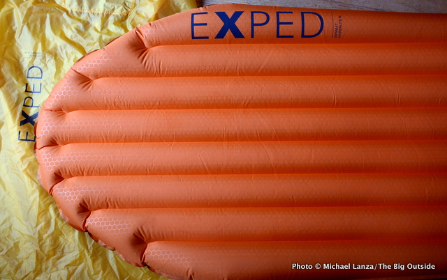 Gear Review Exped Synmat Hyperlite Air Mattress The Big