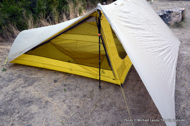 & Gear Review: Sierra Designs Tensegrity 2 FL Tent | The Big Outside